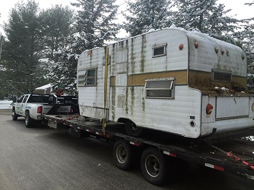 Heavy Hauling - We Remove Junk Cars, Boats, Campers and More